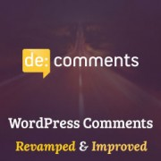 How to Improve WordPress Comments with De:comments