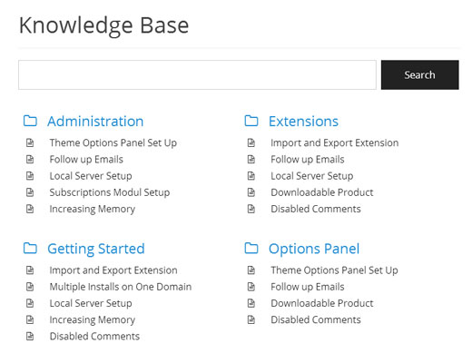 Knowledge Base-plugin