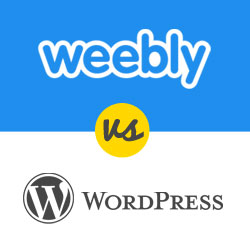 WordPress vs Weebly - Which one is better? (Comparison)