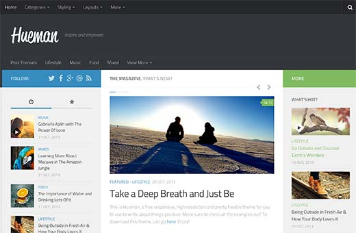 24 best free wordpress business themes hueman is a multi purpose free wordpress business theme it is highly customizable and comes with easy to use options panel it has multiple layout choices accmission