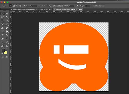 Creating a site icon for your WordPress blog using Adobe Photoshop