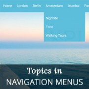 How to Add Topics in WordPress Navigation Menus