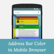 How to Change the Color of Address Bar in Mobile Browser to Match Your WordPress Site