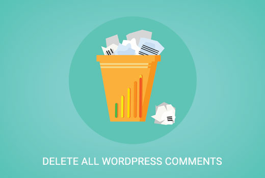 Delete all WordPress comments easily