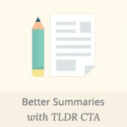 How to Add Better Summary in WordPress Posts with TLDR CTA
