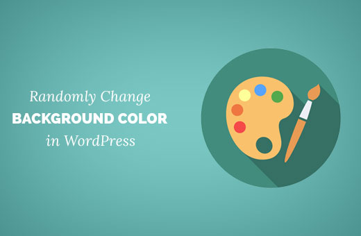 Adding random background colors in WordPress