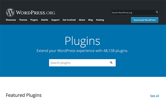 New plugins directory page on WordPress.org
