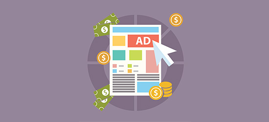 You can make money online with Advertising Program!