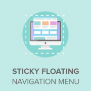 How to Create a Sticky Floating Navigation Menu in WordPress
