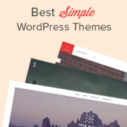42 Best Simple WordPress Themes You Should Try (2019)