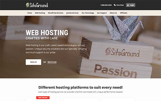 Buy Hosting Siteground  For Sale By Owner