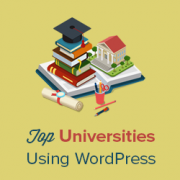 40+ Popular Universities that are Using WordPress