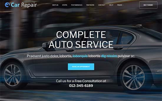 20 Best Wordpress Themes For Auto Repair