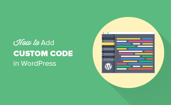 How to easily add custom code in WordPress