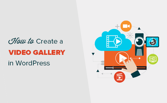 Adding a video gallery in WordPress