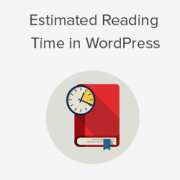 How to Display Estimated Post Reading Time in Your WordPress Posts
