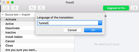 Kies een taal voor uw vertaling