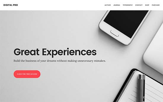 Digital Pro | قالب ووکامرس