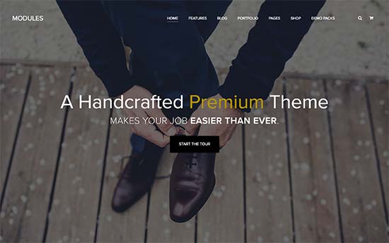 Modules Best WordPress Multi-purpose Theme