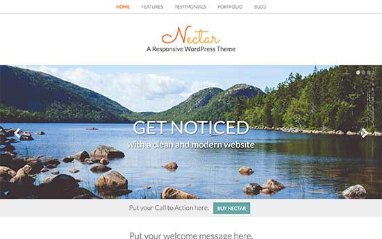 Nectar Best WordPress Multi-purpose Theme