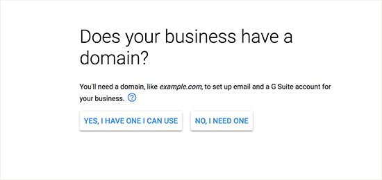 how to make business email address free