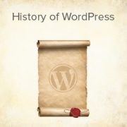 The History of WordPress from 2003 – 2019 (with Screenshots)