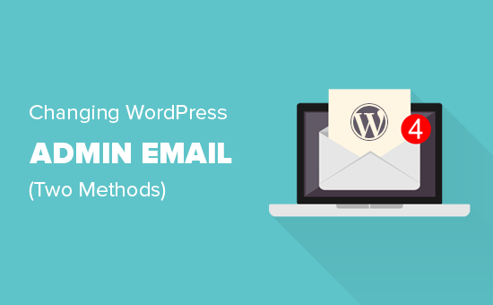 Changing WordPress admin email