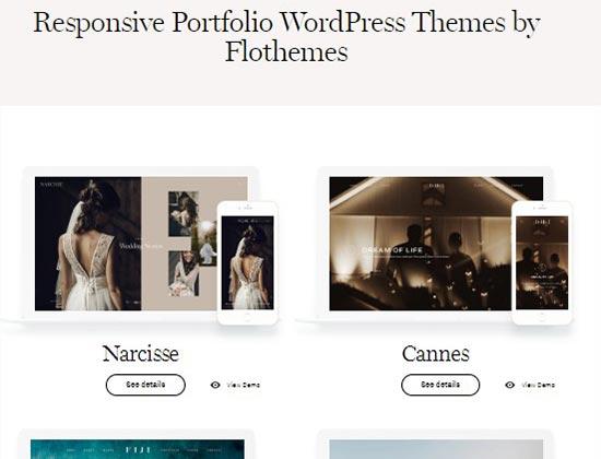 FloThemes shop page