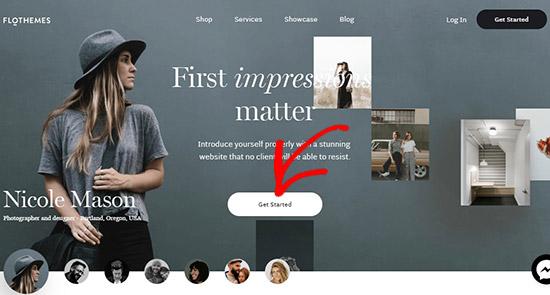 FloThemes website