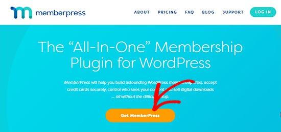 MemberPress website