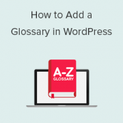How to Add a Glossary or Dictionary Section in Your WordPress Site