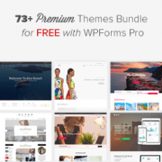 Get 73 Premium WordPress Themes for Free with WPForms Bundle