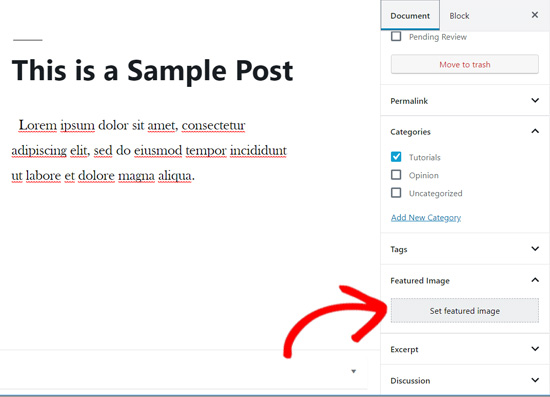 Featured image meta box in WordPress