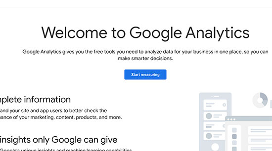 Iscriviti a Google Analytics