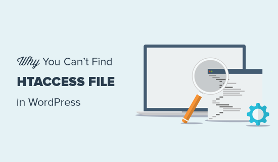 Finding the .htaccess file for your WordPress site