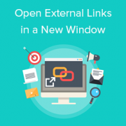 How to Open External Links in a New Window or Tab with WordPress