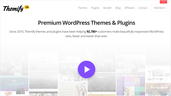 Themify - Successful WordPress theme and plugin Business
