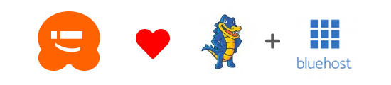 Thank you HostGator and Bluehost