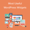 Most Useful WordPress Widgets for Your Site