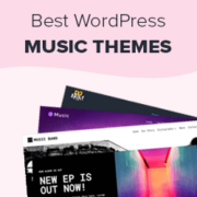 27 Best WordPress Themes for Musicians and Bands (2020)