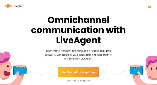 LiveAgent Live Chat Software