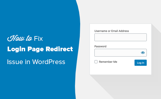 Fixing the login page redirect and refresh issue in WordPress