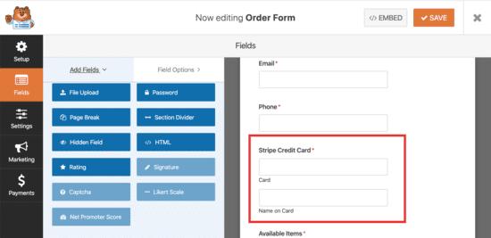 accetta pagamenti con carte di credito per allenamenti online