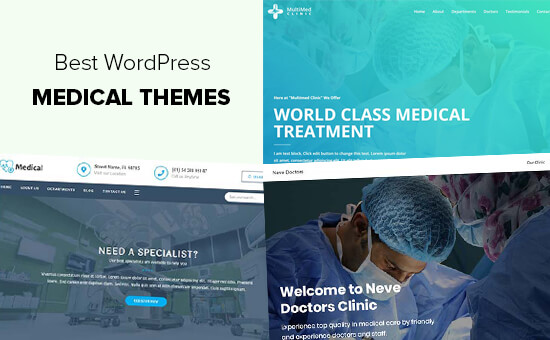 Best Medical and Health WordPress Themes