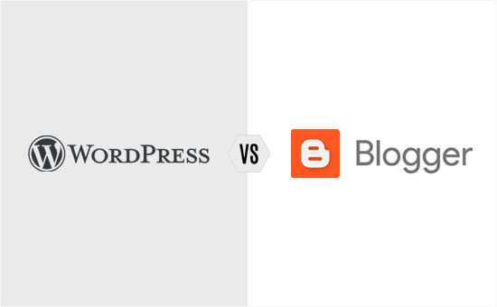 WordPress vs Blogger comparison - pros and cons of each