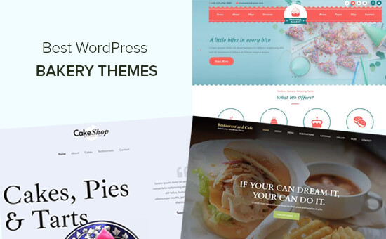 Best WordPress Themes for Bakeries