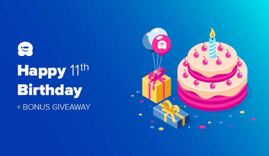 WPBeginner 11th Birthday