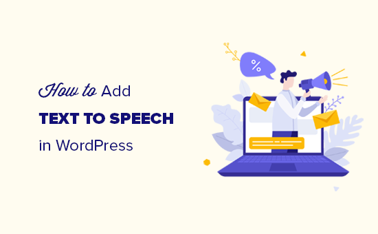 Adding text to speech in WordPress