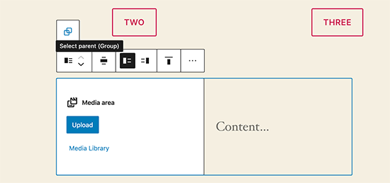 Moving between blocks and navigating around editor in WordPress 5.5
