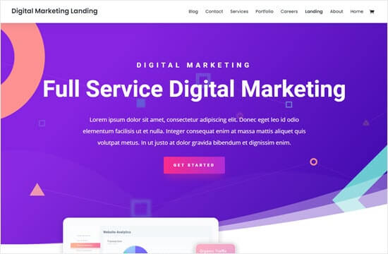 Divi - Digital Marketing